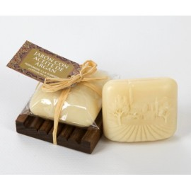 Jabón con Aceite de Argán Bio perfumado a la Almendra (75 g)