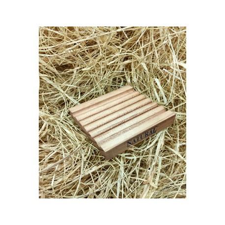 Jabonera de madera