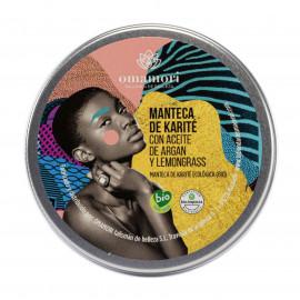Manteca de Karité bio con aceite de Argán