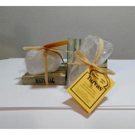 Raw Alum Deodorant (100-130 g)